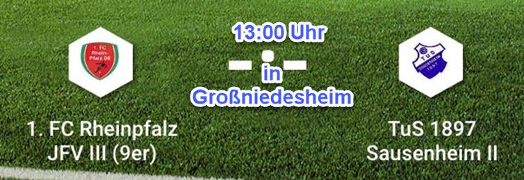 C2 auswärts vs. 1. FC Rheinpfalz JFV III