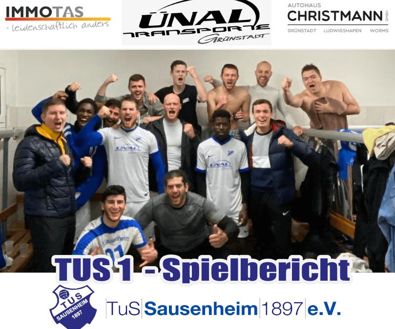 TUS 1 vs. Eintracht Lambsheim 2:1