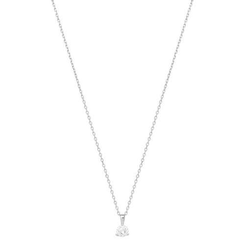 Collier de diamant / Or Blanc