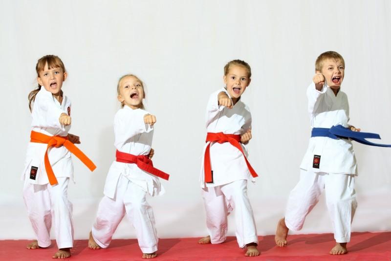 5 beneficios del karate para niños
