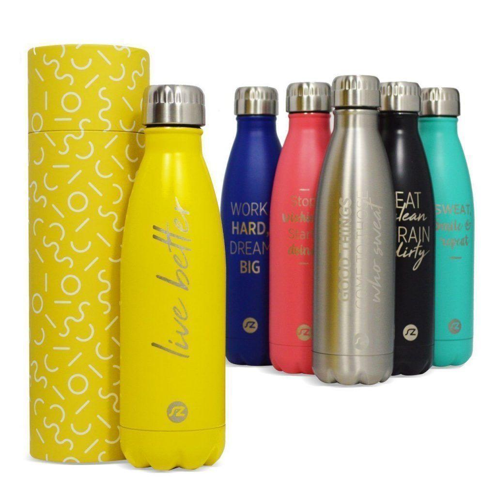 ternitz Botella de Agua Hydra Acero Inoxidable con Aislamiento al vacío