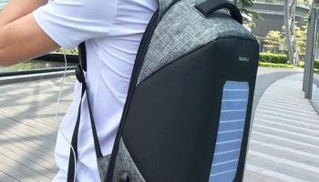 «Mochilas con Placas Solares» para Cargar el Móvil