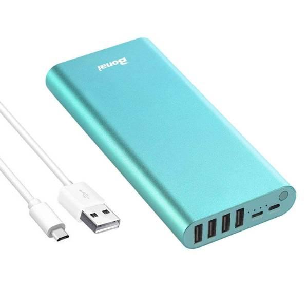 Batería Externa 23800mAh Salida 4 USB para Móvil BONAI