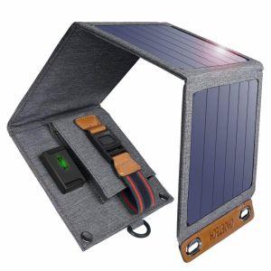 CHOETECH Cargador Solar 14W Portatil Impermeable (5)