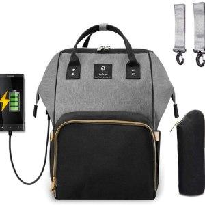 Mochila para Pañales y Biberones con USB - CORNASEE (1)