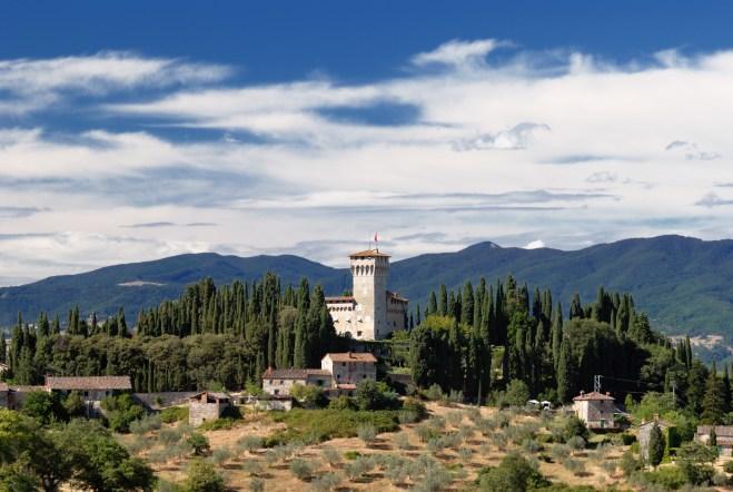 Castello del Trebbio at San Piero a Sieve