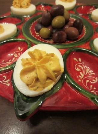...med pugliesiska oliver