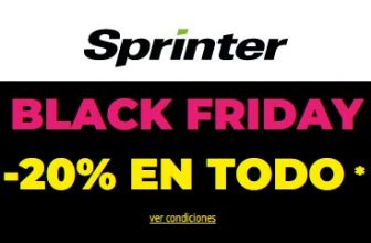 Black Friday en Sprinter 2020