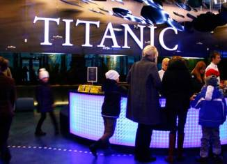 Exposición Titanic en el Museo Marítimo de Estonia