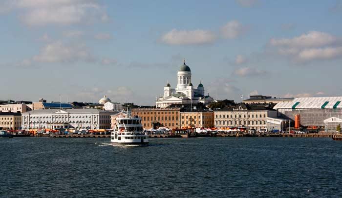 Crucero panorámico en Helsinki