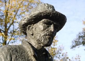 Escultura van Gogh parque Nuenen