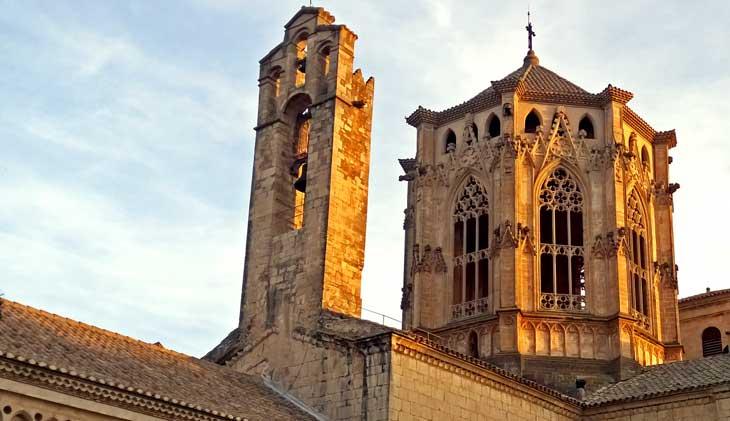 Torres de la iglesia del Monasterio de Poblet