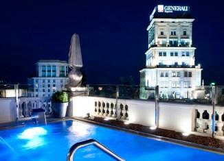 Vistas desde la terraza del Hotel Avenida Palace