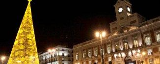 Puerta del Sol en Navidad ©Madrid Destino