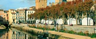 Canal de la Robine, en Narbona