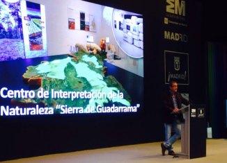 Presentación en Fitur del Centro de Interpretación de la Naturaleza Sierra de Guadarrama El Gurugú. Foto Alejandro Gascueña.