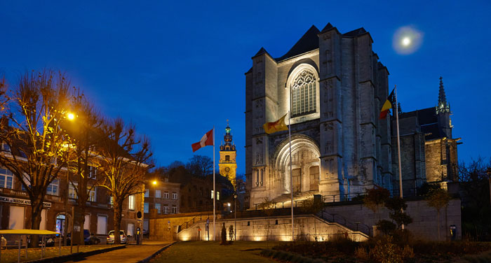 Colegiata de Sainte -Waudru © WBT/J.P.Remy