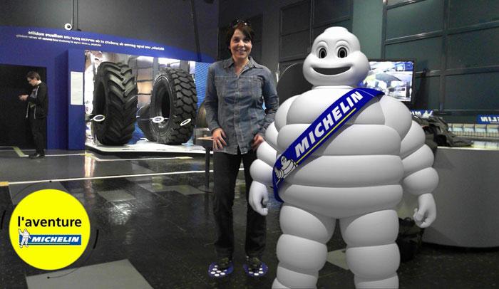 En L'Aventure Michelin hay varios elementos interactivos. Foto L'Aventure Michelin.