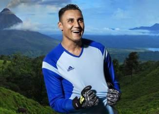 Keylor Navas promociona Costa Rica