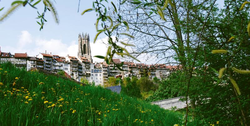Ciudad de Friburgo. Thierry Pradervand / swiss-image.ch