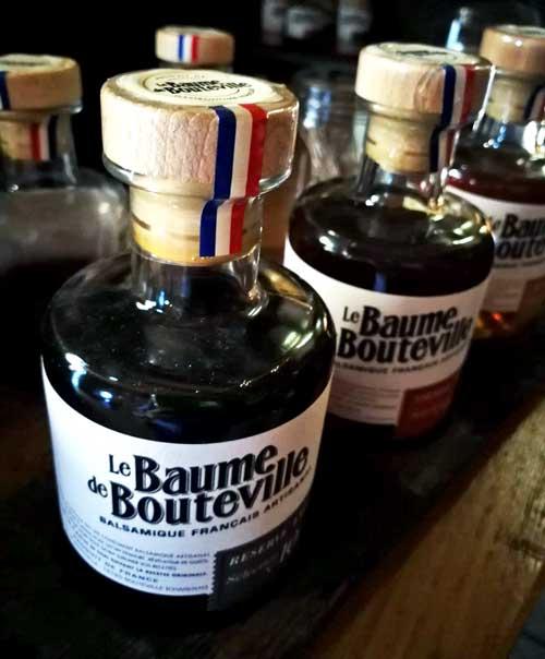 Balsámico Baume de Bouteville, elaborado en barricas que han contenido cognac