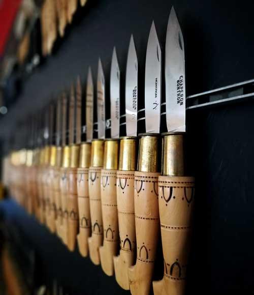 El saber hacer de los cuchillos de Nontron data del siglo XVIII