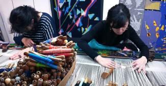 En Aubusson hay cinco talleres de tapices que todavía se pueden visitar