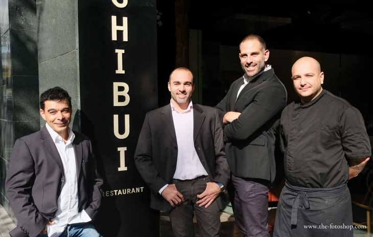 Socios del restaurante Shibui