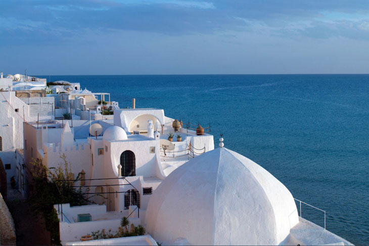 Hammamet es uno de los destinos más visitados de Túnez