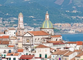 Vietri sul Mare, en la Campania