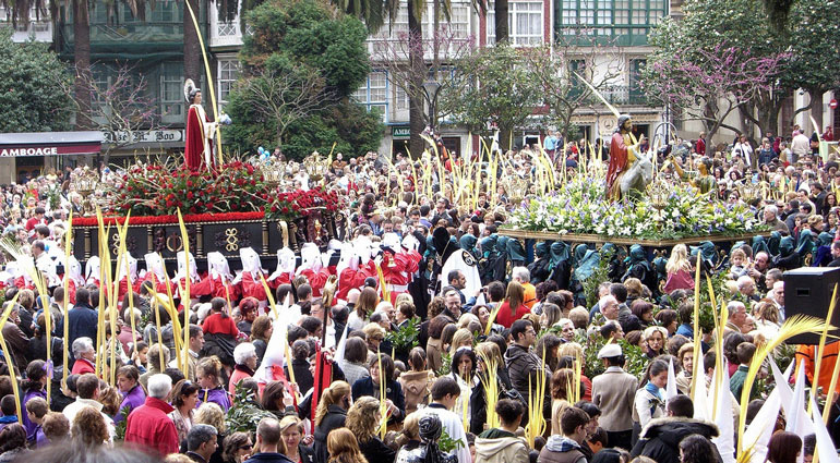Domingo de Ramos en Ferrol