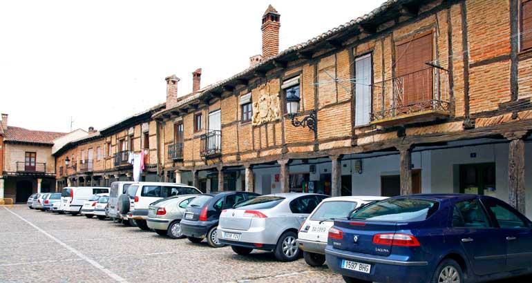 Plaza Mayor de Saldaña