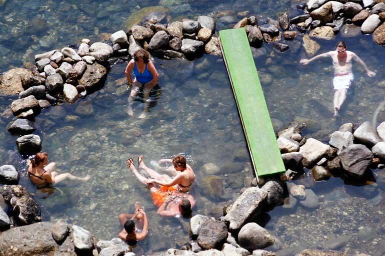 El termalismo es uno de los atractivos de Ischia