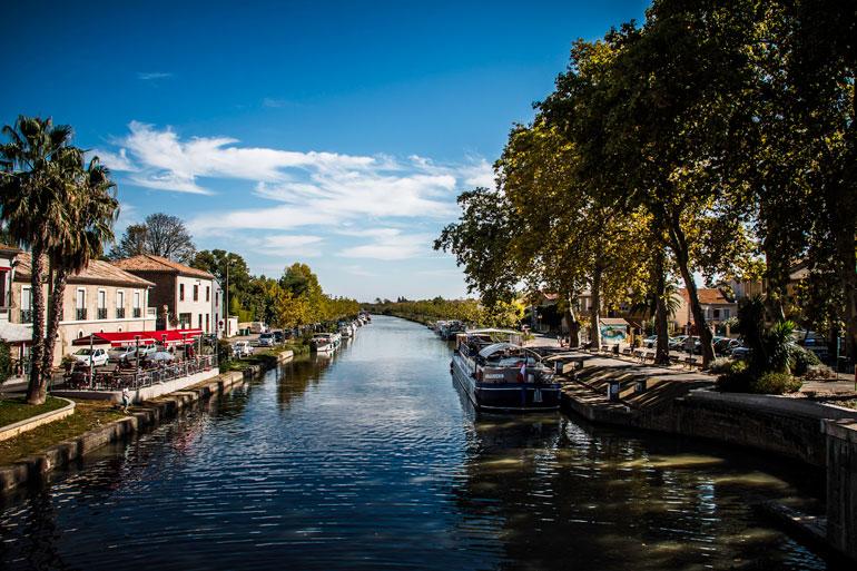 Canal du Midi. Foto Gregoire