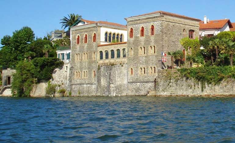Villa Mauresque, uno de los edificios históricos de Hendaya