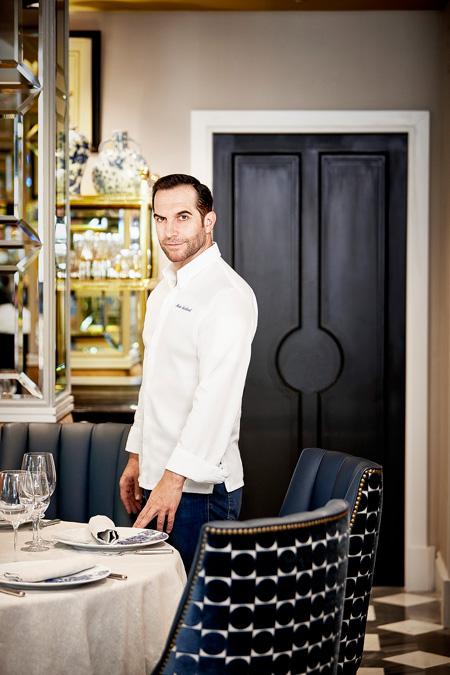 Mario Sandoval, chef con dos estrellas Michelin