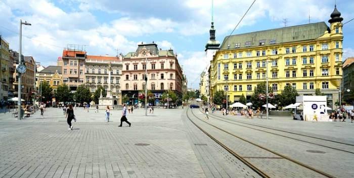 Plaza de la Libertad de Brno