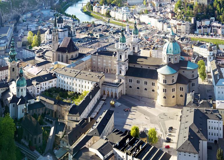 Domquartier de Salzburg