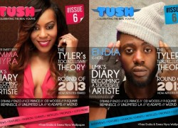 Emma Nyra & Endia Grace The Cover Of Tush Magazine Issue 6!