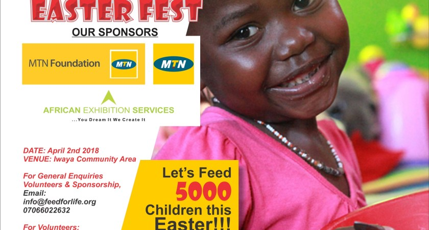 Feed For Life To Feed 5000 Children At Iwaya Slum This Easter