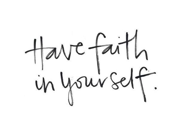 Youths: Have Faith In Yourself? [Entry 70]