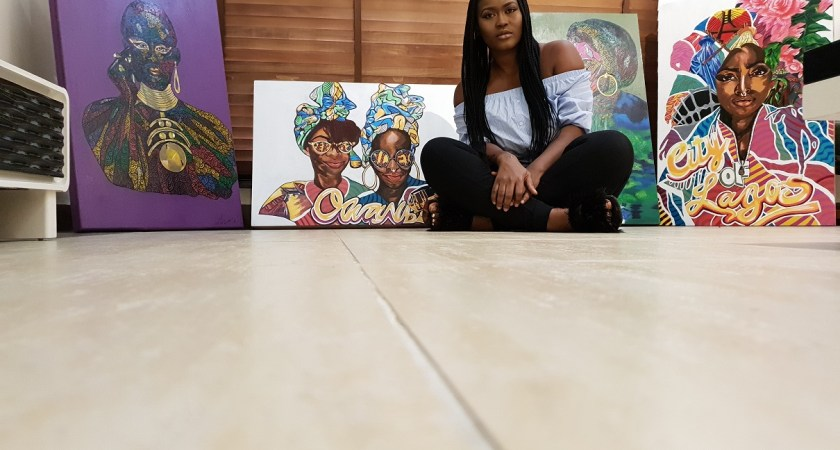 """I Won't Create A Painting Of Fela Because He Doesn't Influence Me"" – Jessica Soares"