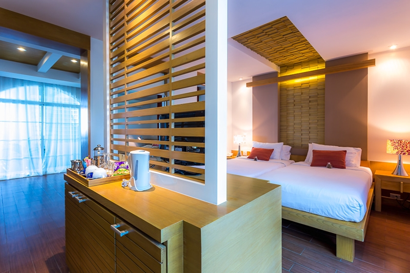 Tusita Wellness Resort Chumphon : Beachfront Jacuzzi Room