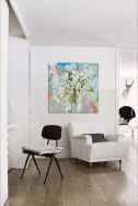 """How """"Fleur Blanc Frais"""" could look in your home..."""