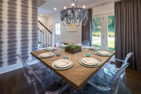 Interior Design for Dining Room in Fairfield, CT