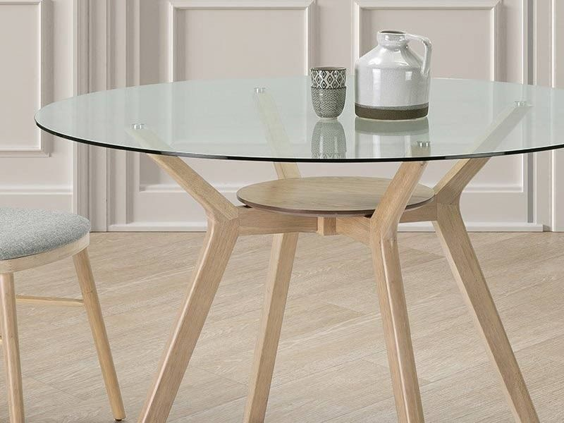 table ronde moderne diametre 120 cm en