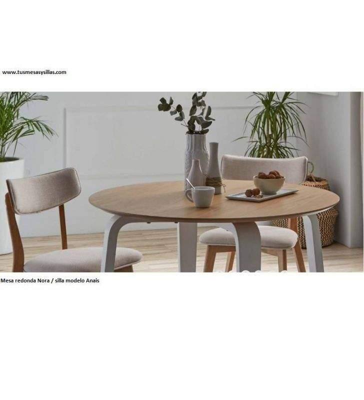 nora style nordique table ronde pas cher en 100 diametre