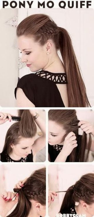 peinados de graduacion