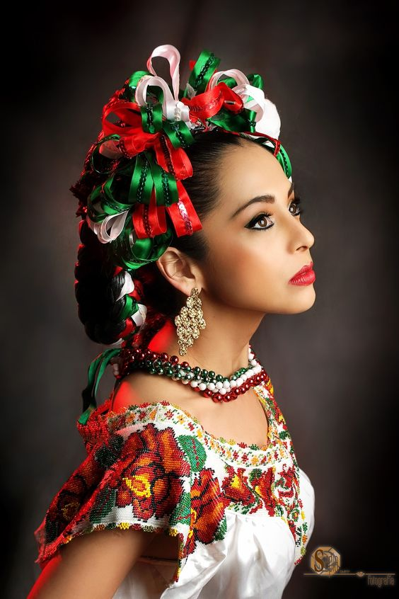peinados mexicanos