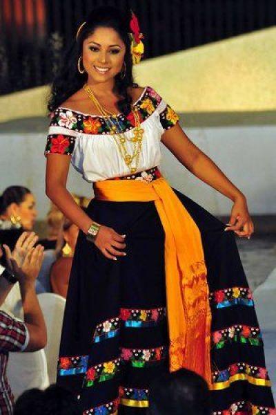 cabello suelto peinados mexicanos